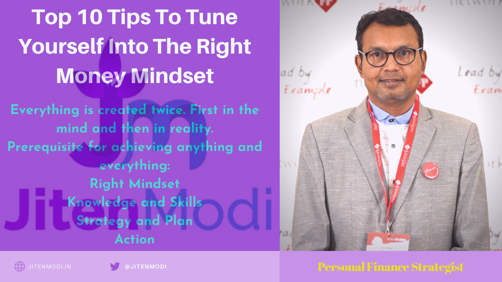 Top 10 Tips To Tune Yourself Into The Right Money Mindset