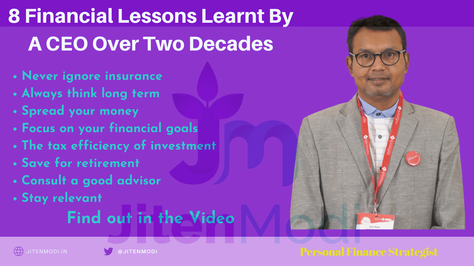 8 Financial Lessons Learnt By A CEO Over Two Decades